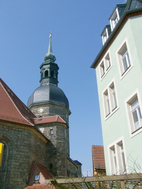 Kirche der Stadt