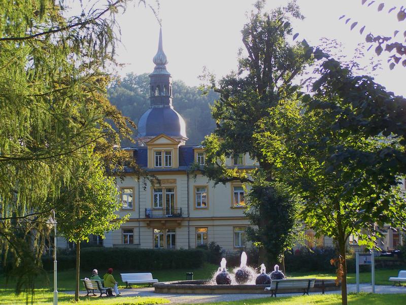 Stadtpark an der Badallee